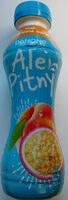 Napój jogurtowy o smaku brzoskwinia-marakuja - Product - pl