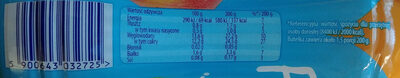 Napój jogurtowy o smaku brzoskwinia-marakuja - Voedingswaarden - pl