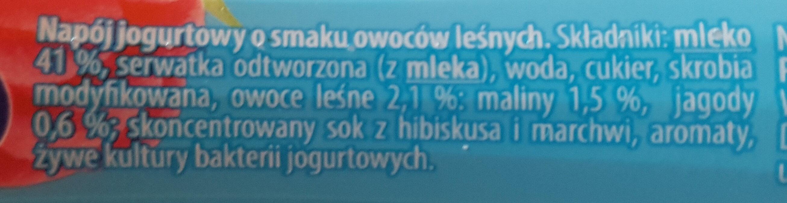 Jogurt Ale Pitny owoce leśne - Składniki - pl