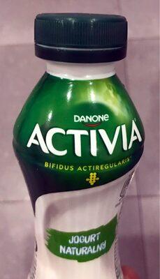 Jogurt naturalny do picia ze szczepami bakterii ActiRegularis - Produkt - pl