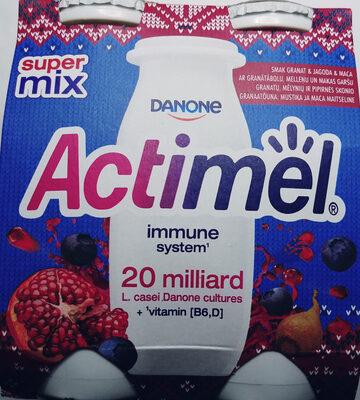 Actimel o smaku jagida-granat-maca - Produkt - pl