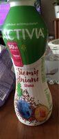 Jogurt pitny Siemię lniane, sliwka - Produkt