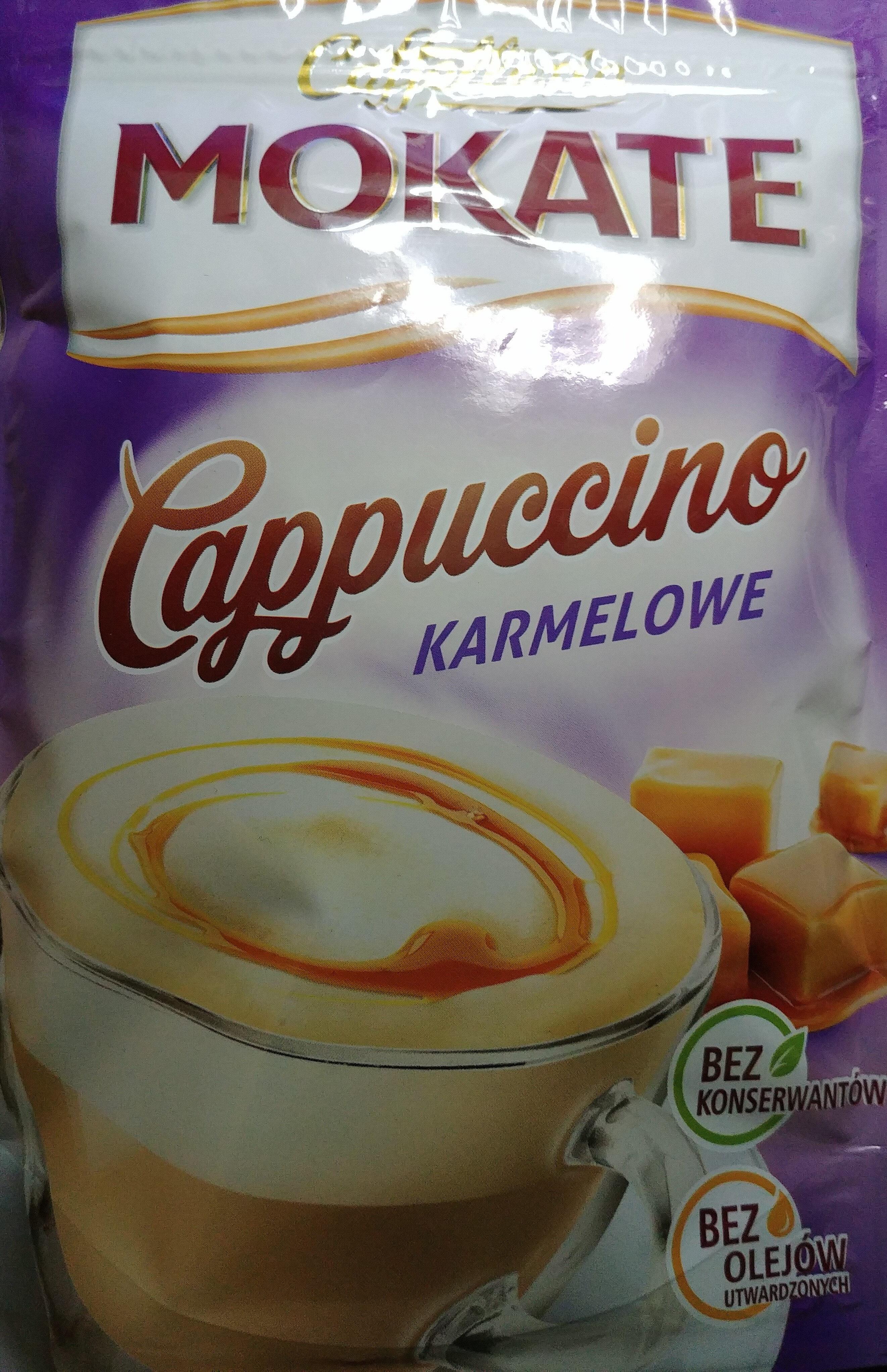 Cappuccino karmelowe - Produkt