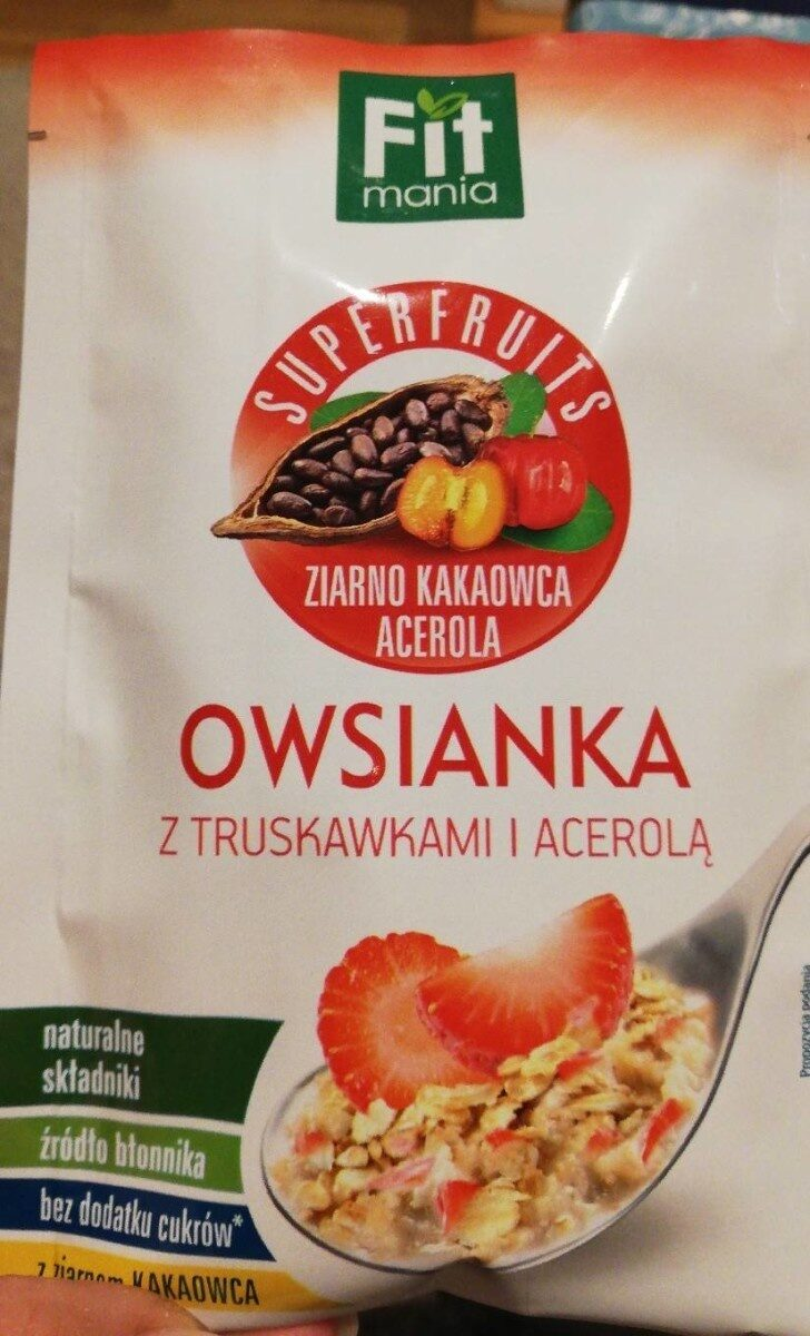 Owsianka z truskawkami - Producto - es