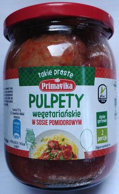Pszenne pulpety wegetariańskie w sosie pomidorowym - Produkt - pl