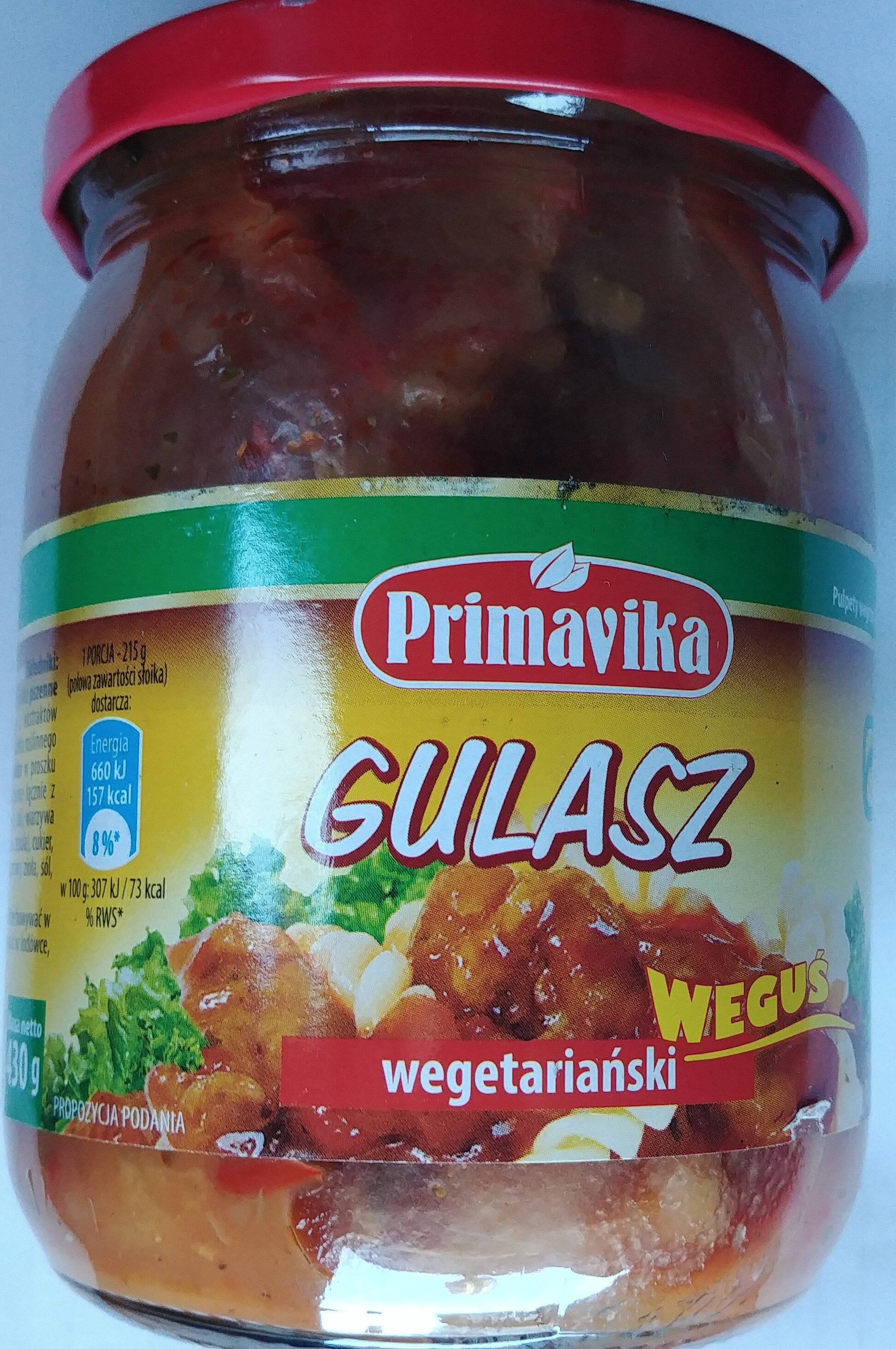 Gulasz wegetariański z pszenicy - Produkt - pl