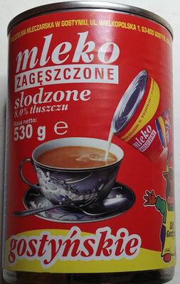 Mleko zagęszczone słodzone - Produkt - pl