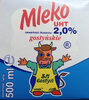 Mleko UHT 2% - Produkt