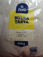 Bułka tarta pszenna - Produkt