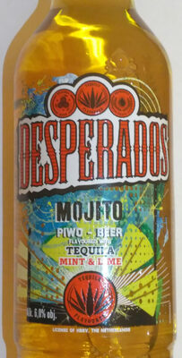 Beer flavoured with tequilla, mint & lime - Produkt - en