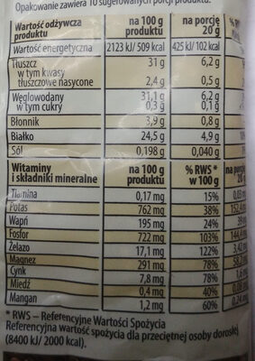 Siemię lniane - Wartości odżywcze - pl