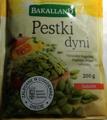 Pestki dyni - Product - pl