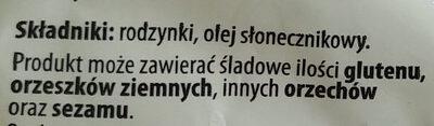 Rodzynki luksusowe - Składniki - pl