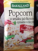Popcorn pomme cannelle - Product
