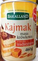 Kajmak - Masa krówkowa o smaku tradycyjnym - Product - pl