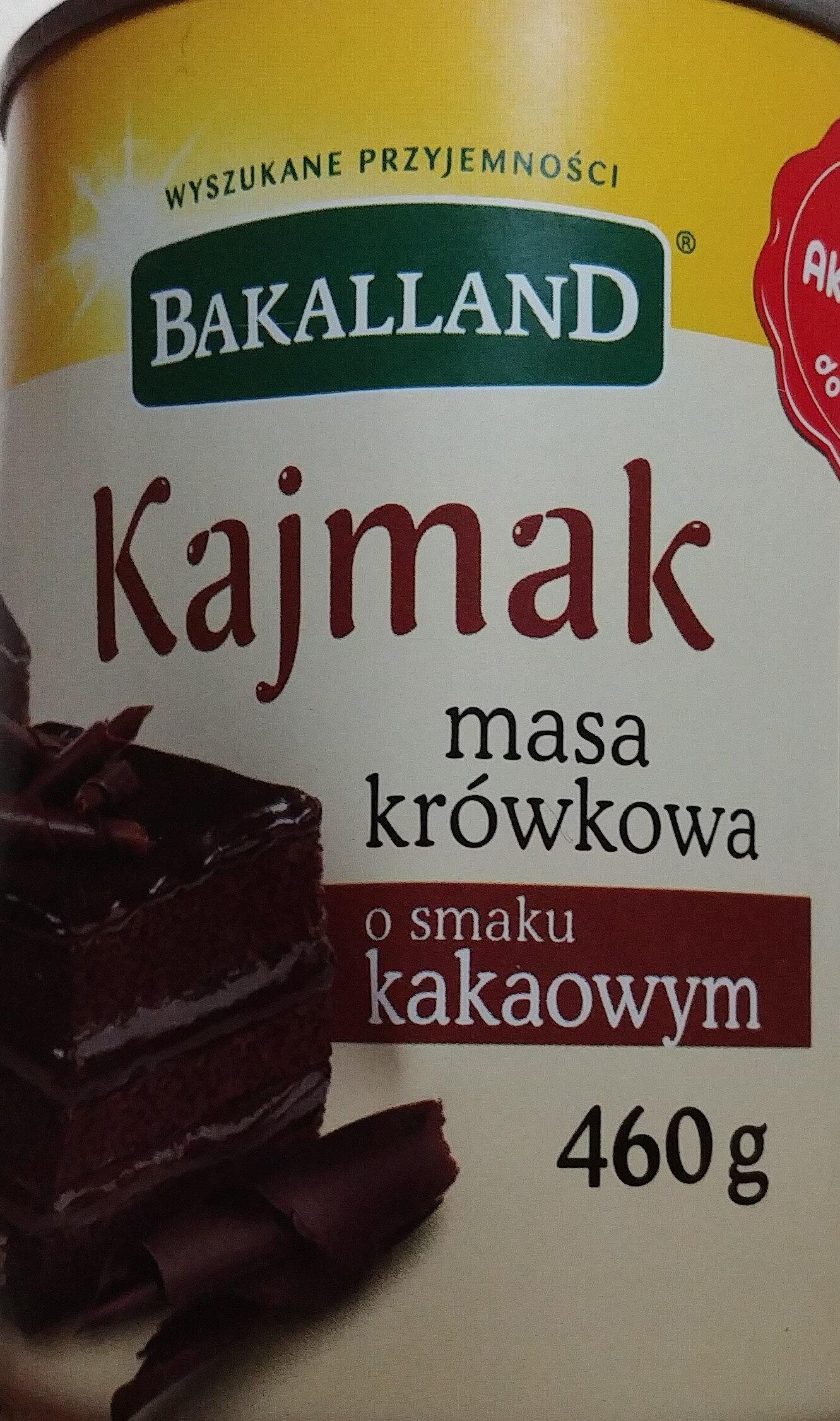 Kajmak masa krówkowa o smaku kakaowym - Product - pl