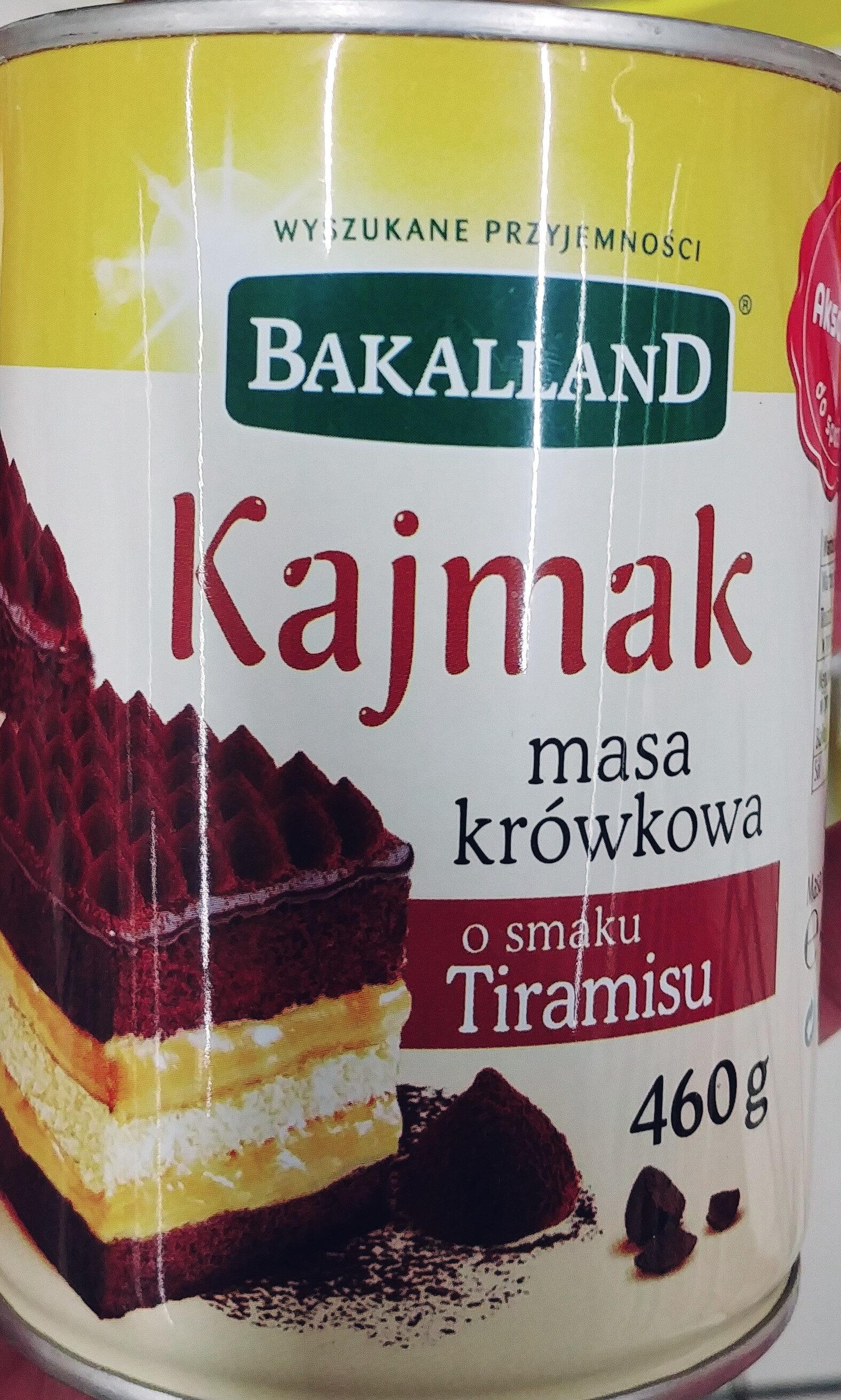 Kajmak - Masa krówkowa o smaku Tiramisu - Product - pl