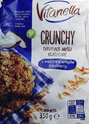 Musli chrupkie klasyczne z dodatkiem wiórków kokosowych - Produit - pl