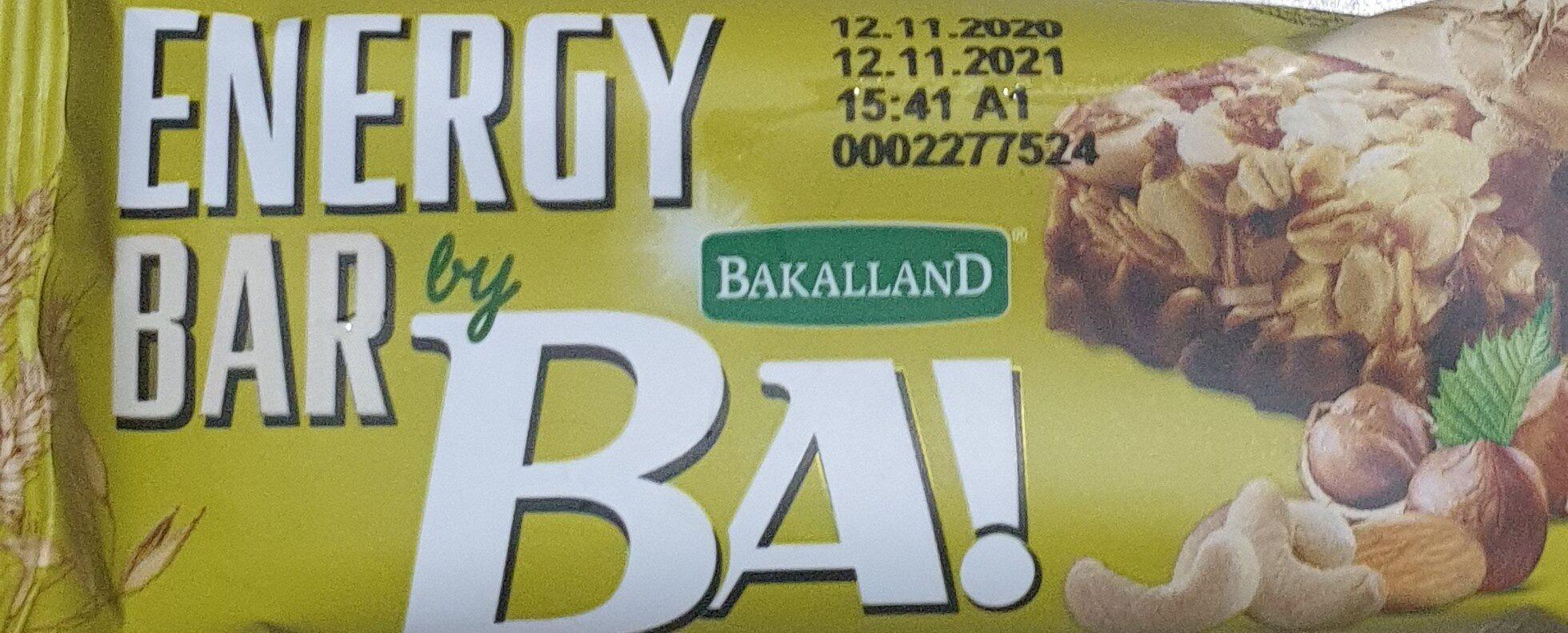 Ba! 5 Nuts Energy Bar 40G - Produit - fr