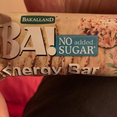 Ba! Energy bar - Product - en