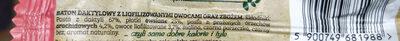 Ba! baton zbożowy daktyle & malina z prażonymi arachidami - Ingrédients - pl
