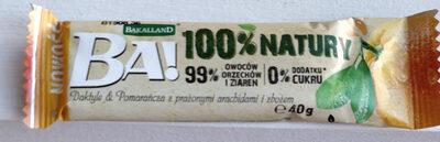 BA! 100% NATURY – Daktyle & Pomarańcza z prażonymi arachidami i zbożem - Product