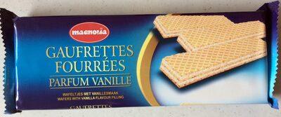 Gaufrettes Fourrées Parfum Vanille - Product - fr