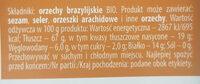 Orzechy brazylijskie bio - Ingredients - pl