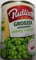 Groszek konserwowy - Produkt