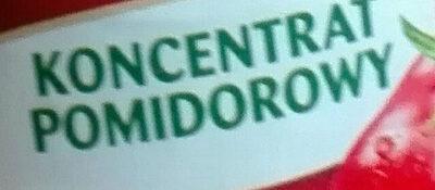 koncentrat pomidorowy - Ingredients - pl