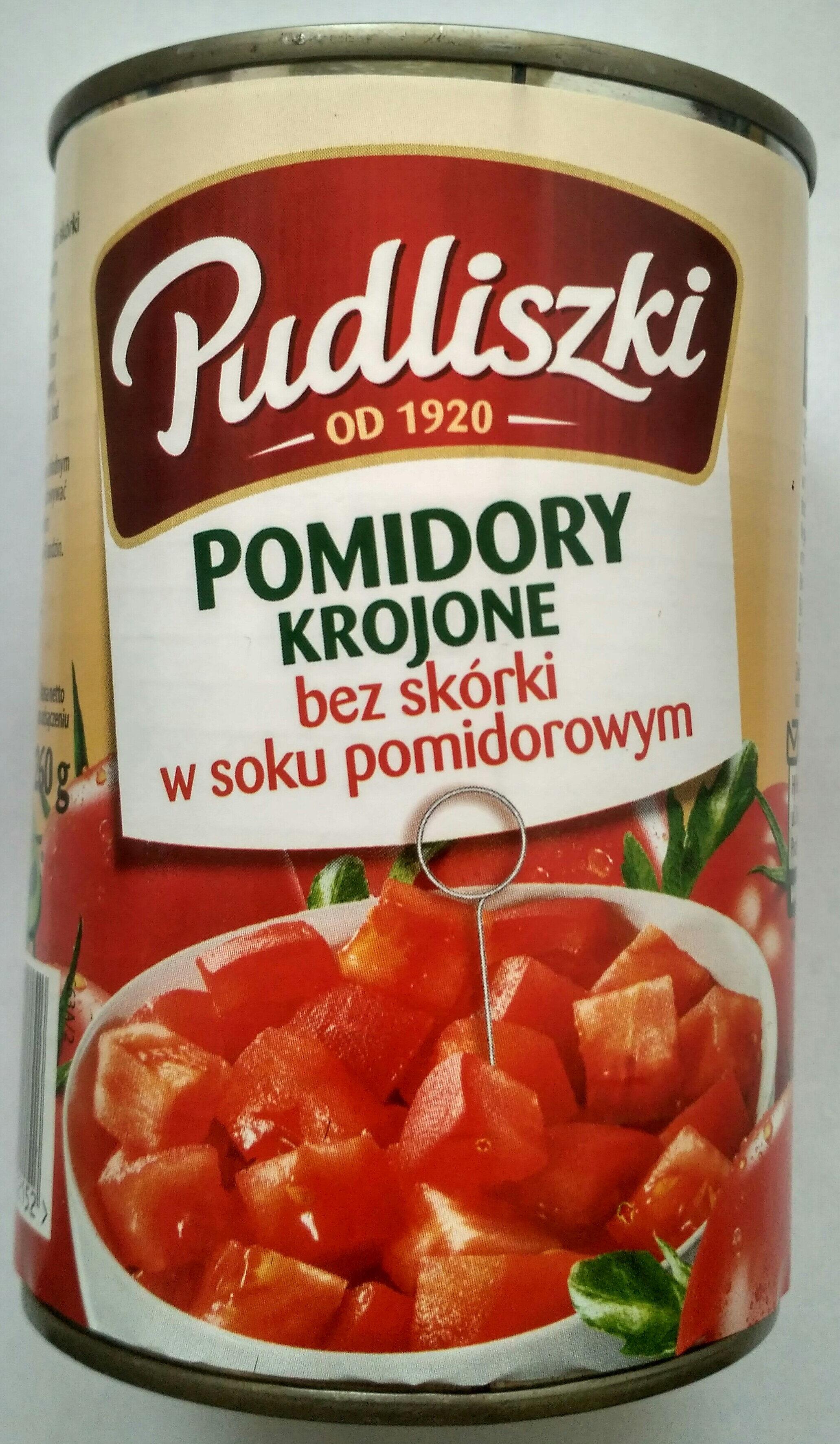 Pomidore krojone bez skórki w sosie pomidorowym. - Produkt - pl