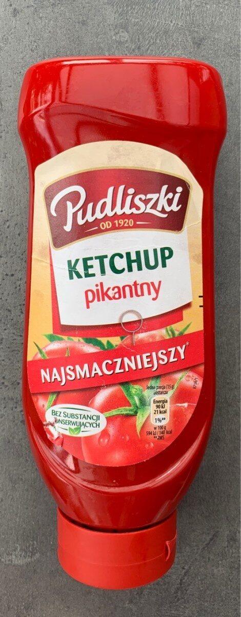 Hot tomato ketchup - Produkt