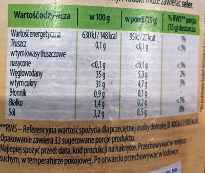Ketchup łagodny - Voedingswaarden - pl