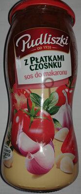 Sos do makaronu z płatkami czosnku - Produkt