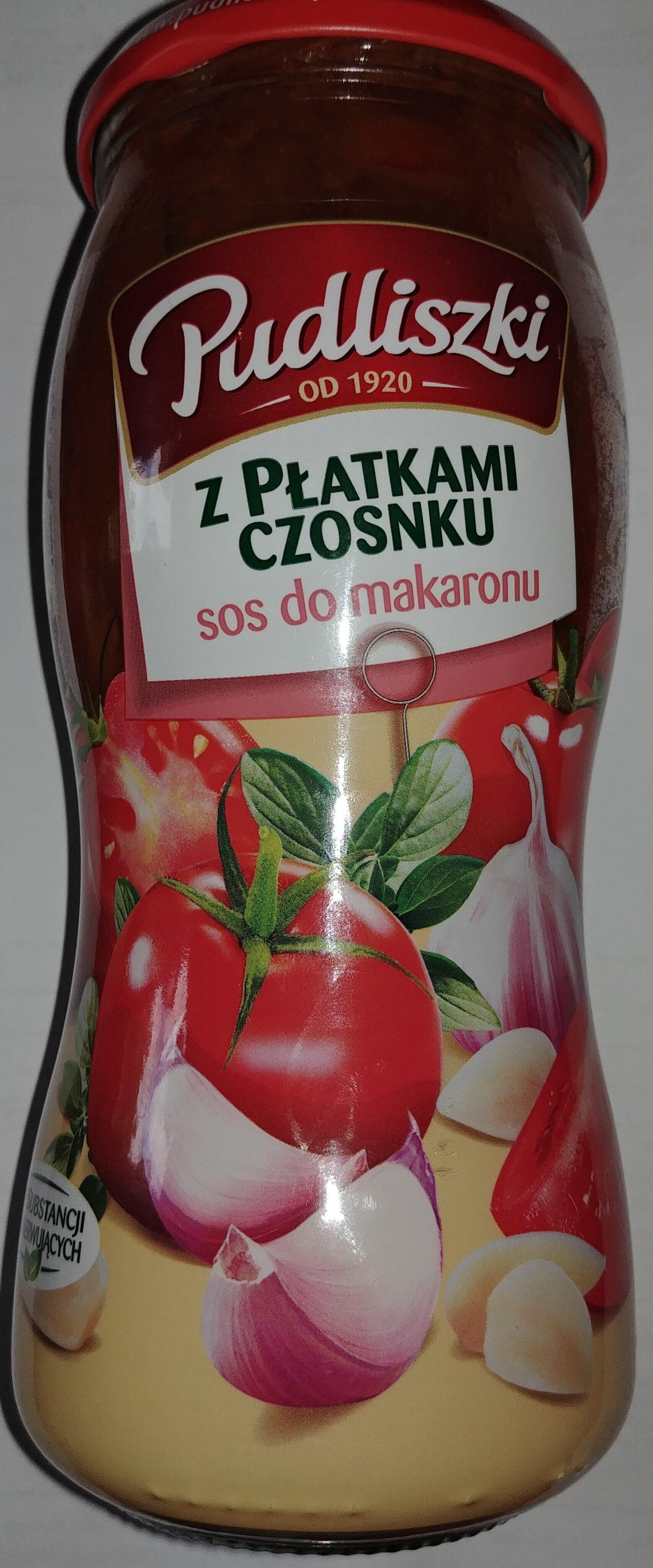 Sos do makaronu z płatkami czosnku - Produkt - pl