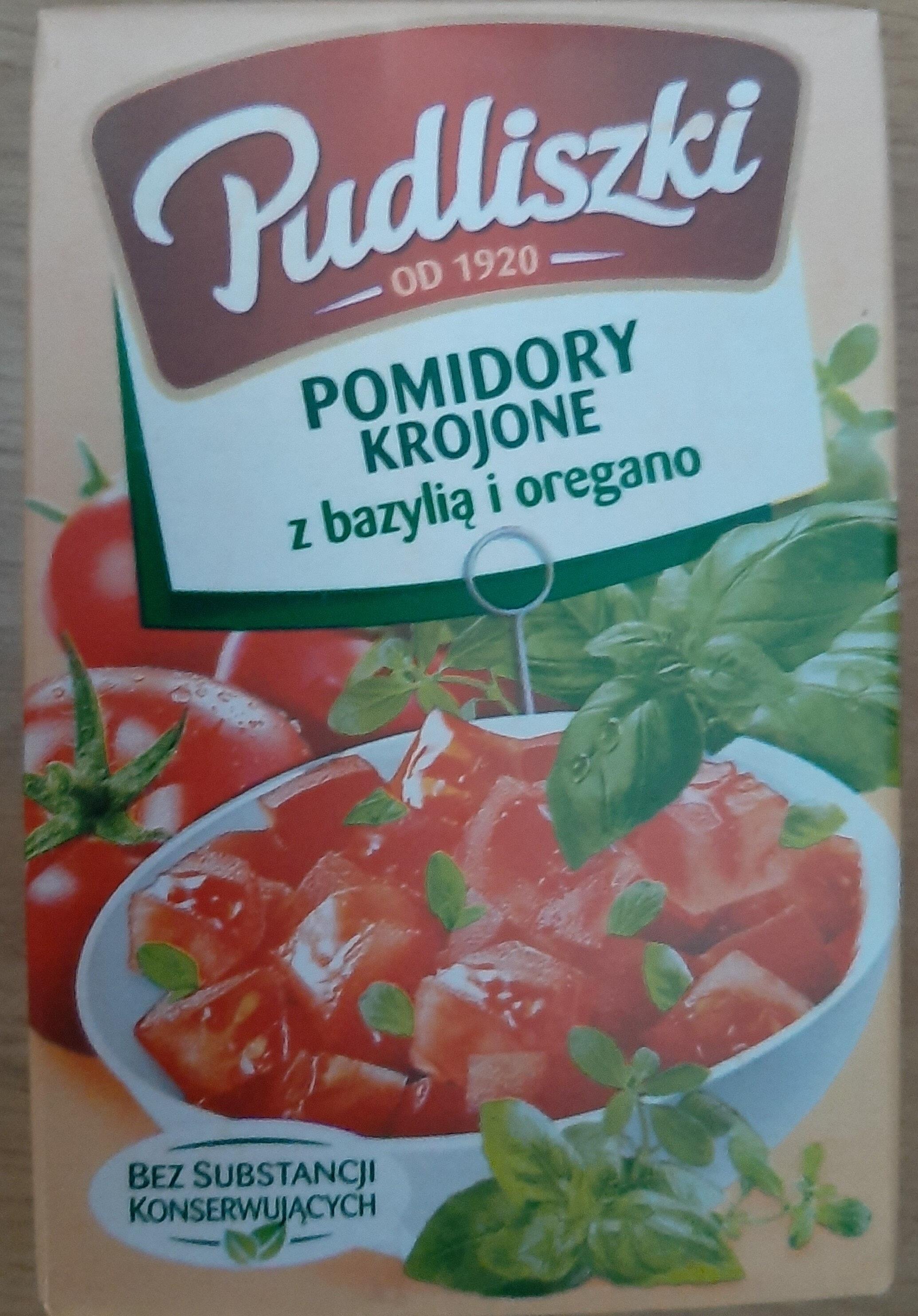 Pomidorowe krojone z bazylią i oregano - Product - pl