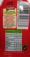 Ketchup łagodny Pudliszek - Informations nutritionnelles - pl