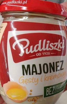Majonez gęsty kremowy - Produit - pl