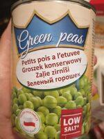 Green peas - Voedigswaarden