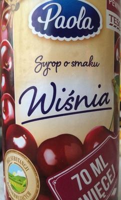 Syrop wysokosłodzony o smaku wiśnia - Produkt