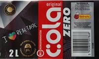 Napój gazowany typu cola o zmniejszonej wartości energetycznej - Produkt