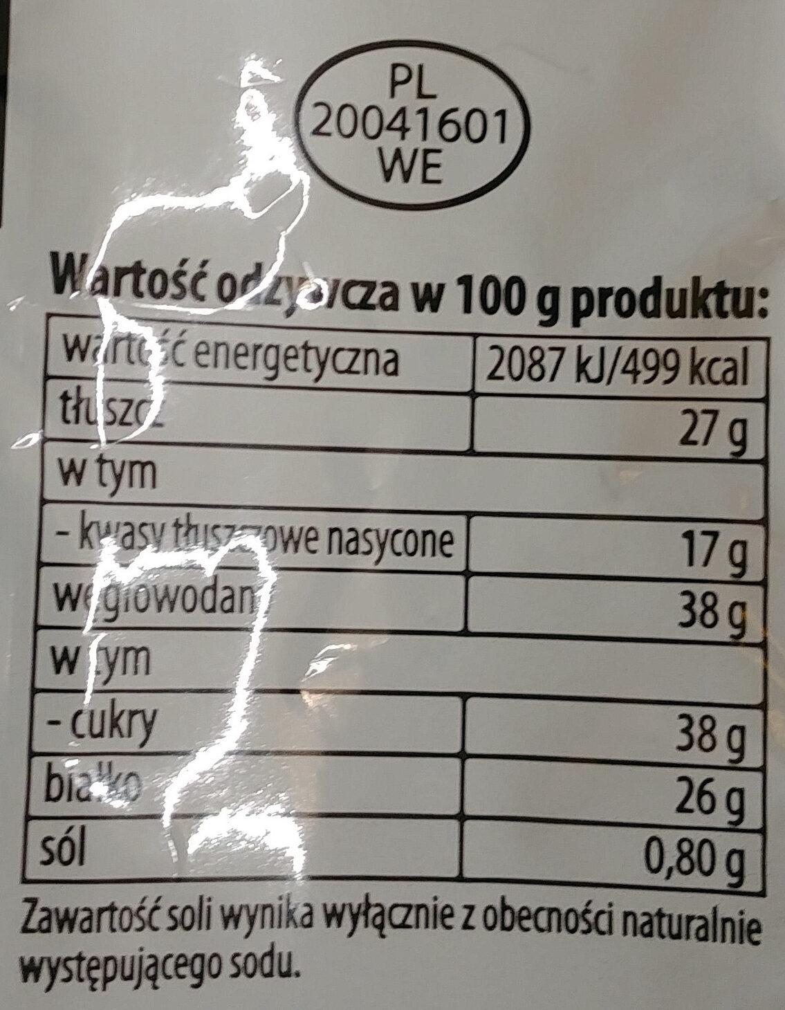 Mleko w proszku pełne - Wartości odżywcze