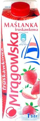 Maślanka truskawkowa - Produkt