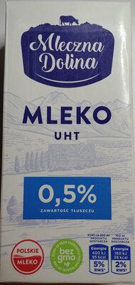 Mleko UHT 0,5 % - Produit