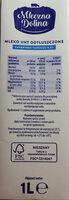 Mleko UHT 0,5 % - Informations nutritionnelles