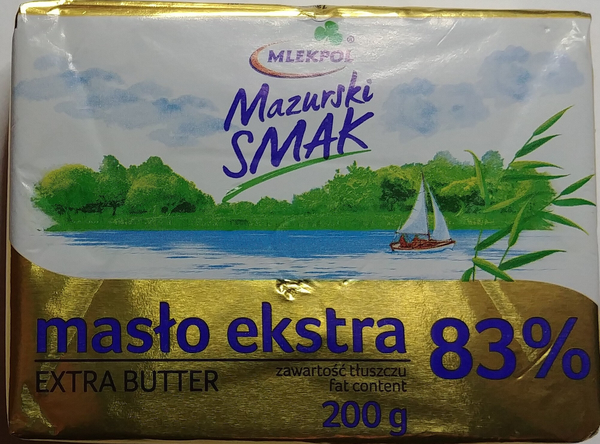 Masło ekstra 83% - Produkt
