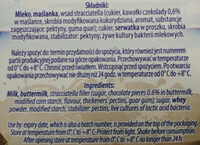Maślanka stracciatella - Ingredients - pl