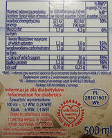 Maślanka stracciatella - Nutrition facts - pl