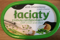 Serek śmietankowy z cebulą i szczypiorkiem - Product