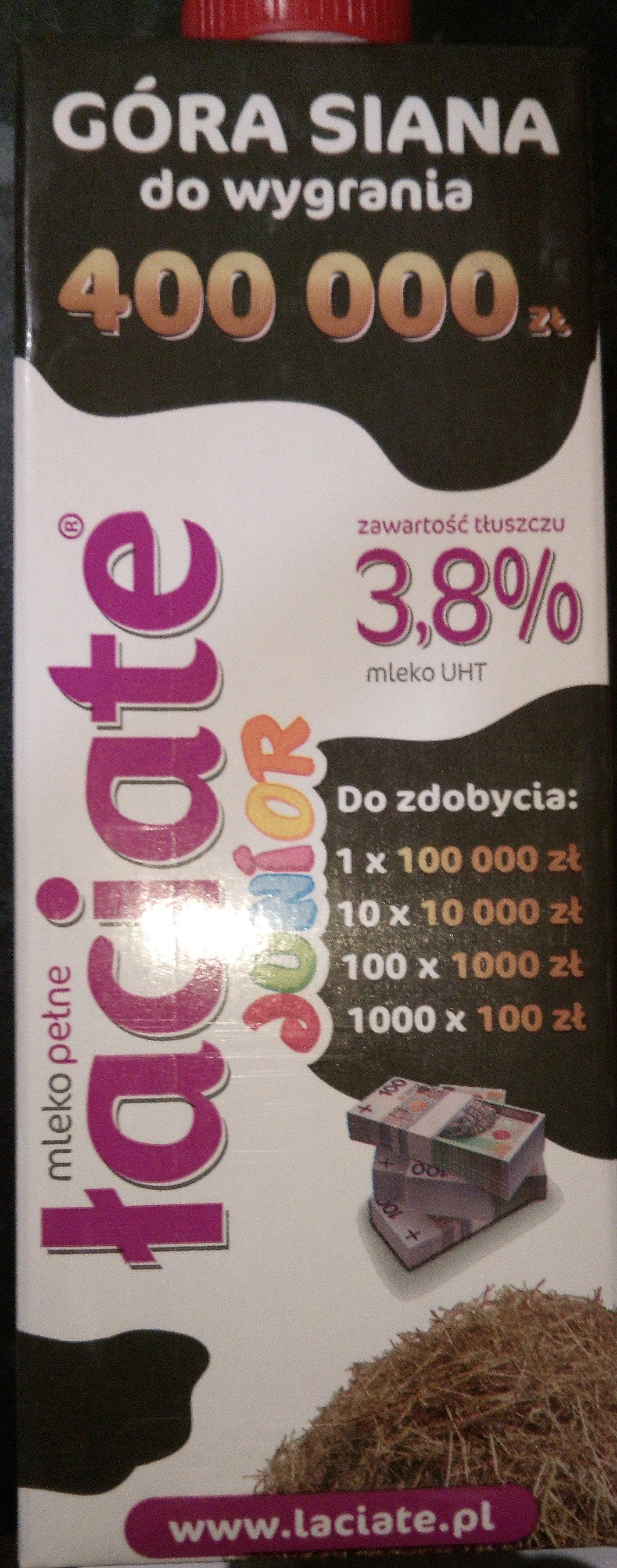 Mleko Łaciate Junior - Produkt - pl